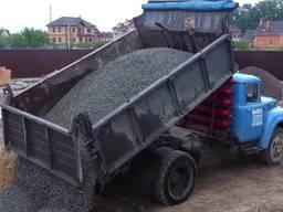 Доставка чернозёма, песка, шлака, щебня. Вывоз мусора.
