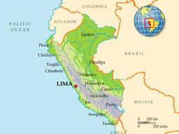 Доставка груза из Перу в Украину