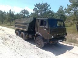 Доставка КАМАЗом 1-15 тонн