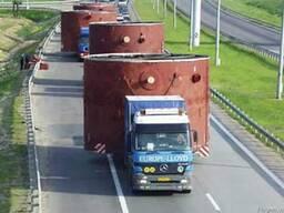 Доставка крупногабаритных и тяжеловесных грузов