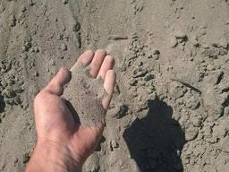 Доставка песка и щебня одной машиной.