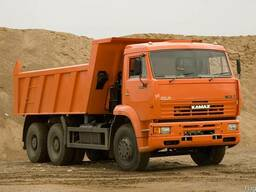 Доставка песка, щебня, керамзита, глины, грунта по Харькову