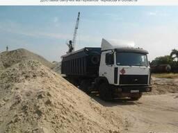 Доставка сыпучих материалов песок щебень отсев вывоз мусора