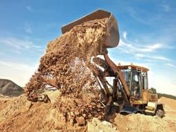Доставка сыпучих материалов шлак песок