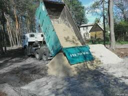 Доставка сыпучих стройматериалов. Вывоз стоительного мусора
