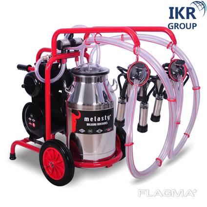 Доїльний апарат для двох корів Melasty TK 2-PK