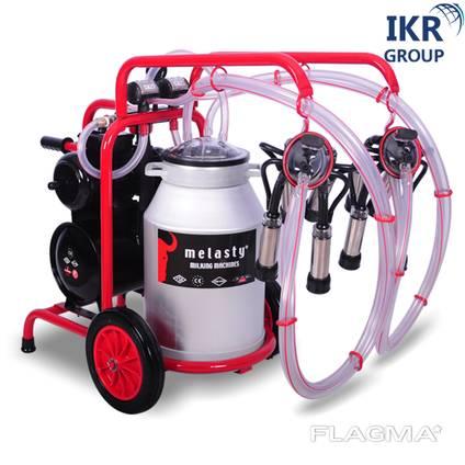 Доїльний апарат для двох корів Melasty TK 2-AK