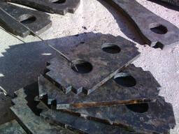 Молотки для зернодробилок Дозамех, ДДМ-5, ДМ2Р, ,ДКУ, ДМБ
