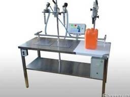 Дозатор для розлива в канистры Дуэт-В для жидких и густых од