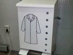 Дозатор /шкаф-контейнер для халатов пищевая промышленность