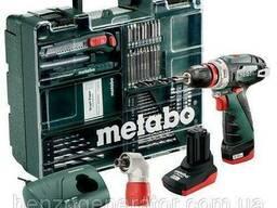 Дрель-шуруповерт аккумуляторный Metabo PowerMaxx BS Quick. ..