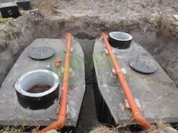 Дренаж грунтовых вод дачного участка, для дома, септика