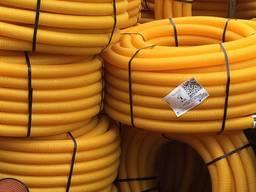 Дренажные трубы пвх в бухтах 50мм, 80мм, 110мм, 160мм, 200 мм