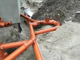 Дренажные работы, ливневая канализация профессонально
