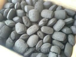 Древесный брикет (европодушка), уголь для. ..
