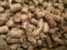 Древесный пеллет (гранула) сосна 8 мм