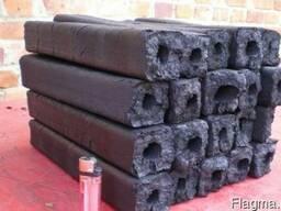 Древесный уголь из брикета Pini& Kay(премиум класс)