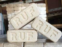 Топливные древесные брикеты РУФ