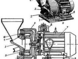 Дробилка для глины мела гипса извести СО-53, СО-53А