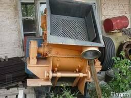 Дробилка роторная с устройством для пылеудаления