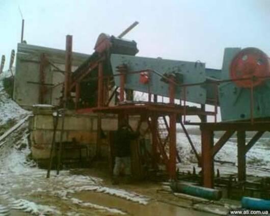 Дробильно сортировочный комплекс ПДСУ-30,90,200.