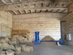 Дробильный комплекс сена-соломы