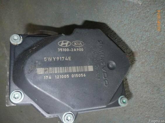 Дроссельная заслонка Hyundai i30 1.6 1.7 CRDI 5WY9174E