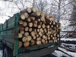 Дрова колоті, чурками дубові, соснові метрові з доставкою - photo 3