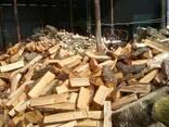 Дрова колоті, чурками дубові, соснові метрові з доставкою - photo 2