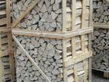 Дрова колотые твердолиственных пород дуб, граб, ясень, береза, - фото 1