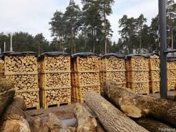 Дрова колотые твердых пород дерева - дуб, ясень - фото 2