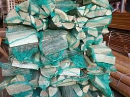 Дрова колотые твердых пород дерева - дуб, ясень - фото 6