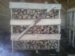 Дрова.Купить Дрова Киев.Грабовые колотые дрова в ящиках.