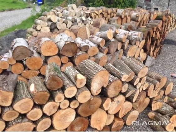 Дрова с доставкой (дубовые, граб, ольха) метровки и колотые