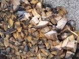 Дрова с доставкой (дубовые, граб, ольха) метровки и колотые - фото 2