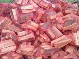 Дрова в сетках оптом(дуб,ольха) для мангала,барбекю