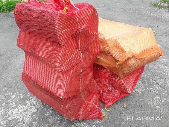 Дрова в сітках