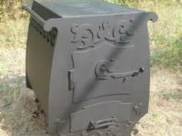 """Дровяная печь с принудительной конвекцией """"Графиня"""", сталь 4"""