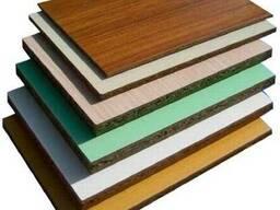 ДСП плита ламинированная толщины от 10 мм до 25 мм.