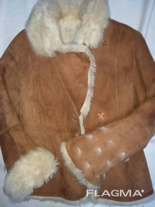 Дубленка женская, куртка с мехом