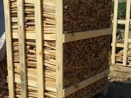 Дубовые дрова рубанные