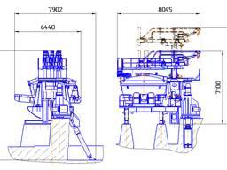 Дуговая сталеплавильная печь переменного тока ДСП 12,0
