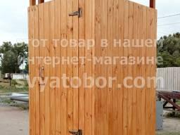 Душ деревянный летний из вагонки бак. Долговечный!!! СуперЦена!!!
