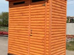 Душ с предбанником летний деревянный! Качество! Низкая Цена! Доставка по Украине