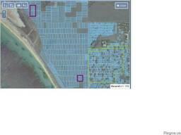 Два участка на берегу моря в Евпатории.