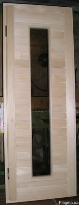 """Дверь для бани или сауны. Модель """"ИРЭН""""."""