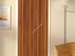 Дверь-гармошка Plaza 88x203 плодовое дерево. ..