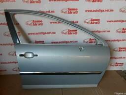 Дверь передняя правая голая Peugeot 407 04-11 б/у оригинал