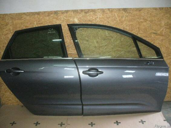 Дверь передняя задняя левая правая б/у Citroen C4 2004-2013
