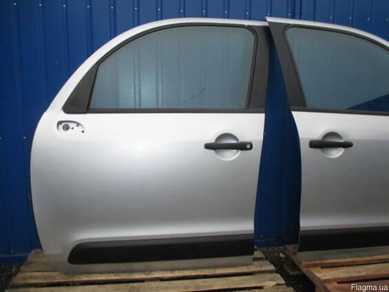 Дверь передняя задняя левая правая Citroen C3 picasso 2009-